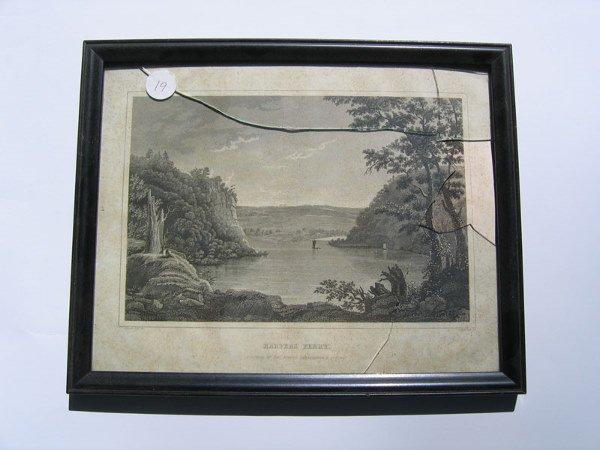 19: Harper's Ferry Framed Engraving