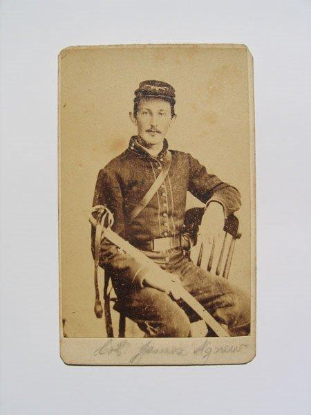 22: Carte De Vista, Civil War Soldier