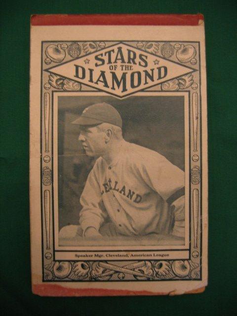 1001: Tris Speaker  Baseball Tablet c. 1920