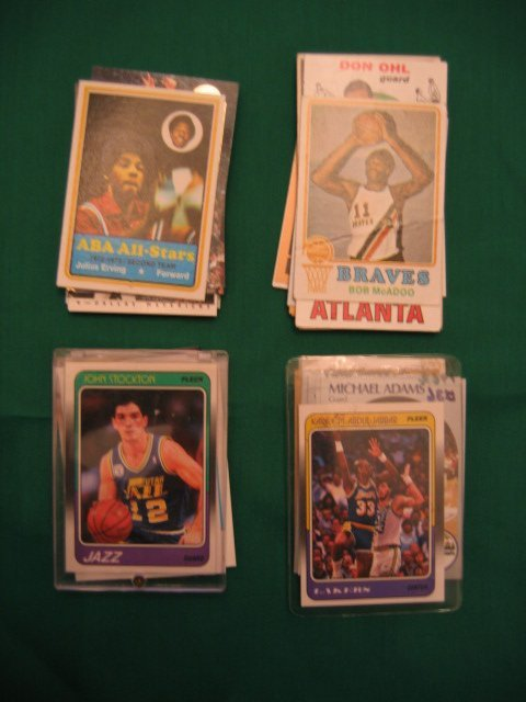 """1003: Basketball Lot of More Than """"75"""" Cards"""