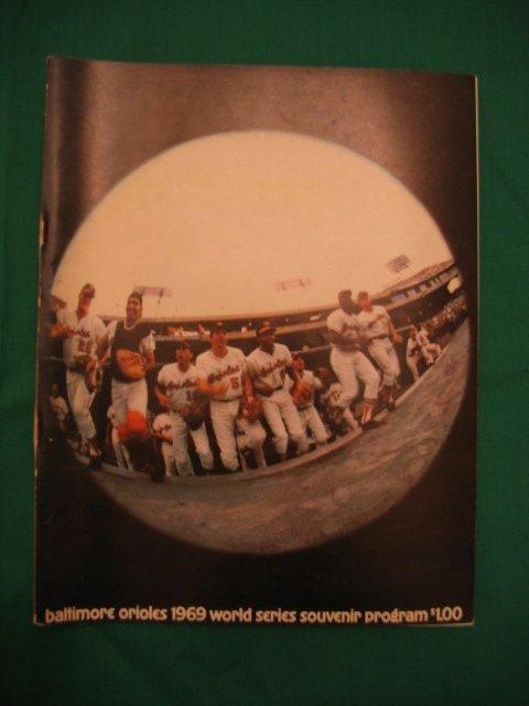 1004: Baltimore Orioles 1969 World Series Program