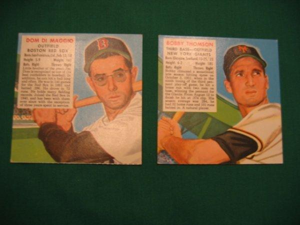 1010: 1952 Red Man Tobacco Baseball Cards