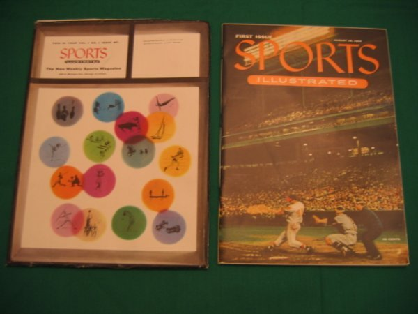 1111: Sport Illustrated First Issue August 16, 1954
