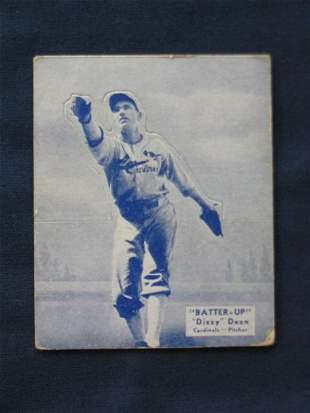 Dizzy Dean 1934 Batter- Up Card