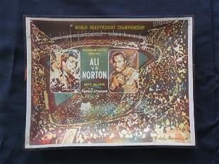 Ali vs. Norton 1976 Boxing Championship Tray