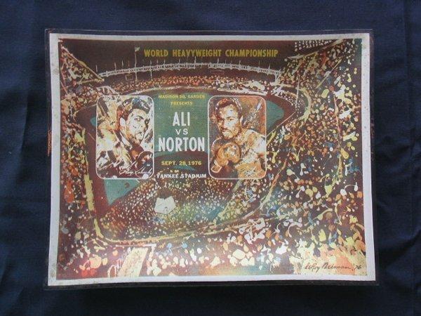 1006: Ali vs. Norton  1976 Boxing Championship Tray