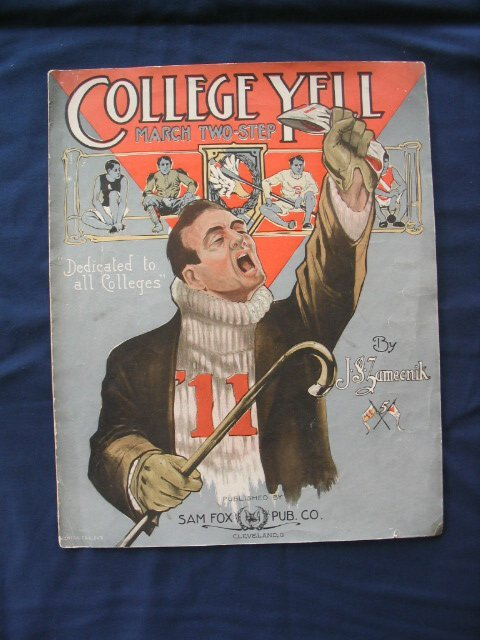 1007: College Yell 1911 Featuring Different Schools