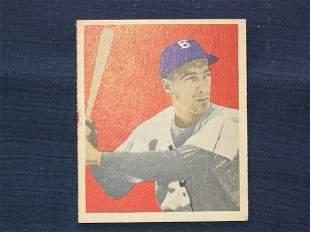 Billy Cox 1949 Bowman Rookie Card