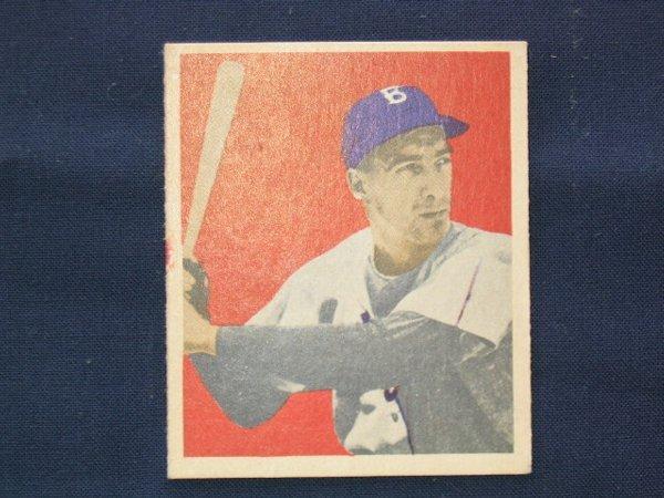 1010: Billy Cox 1949 Bowman Rookie Card