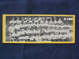 Brooklyn Dodgers 1951 Topps Team Card