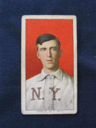 Fred Merkle 1909 T206 Sweet Caporal Tobacco Card