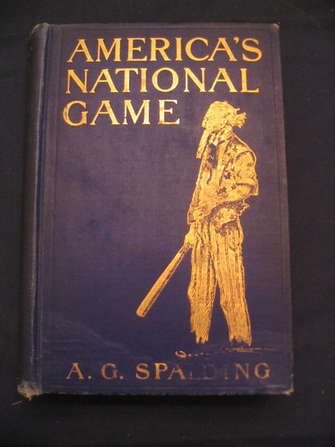 1276: America's National Game 1911 by A.G. Spalding