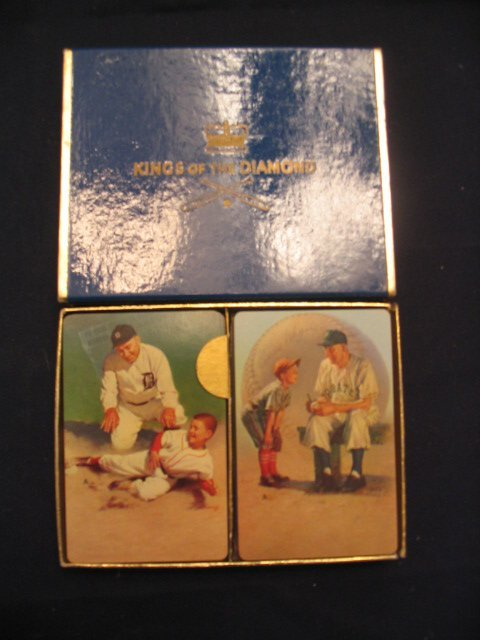 1286: Kings of the Diamond Card Baseball Set Cobb, Wagn