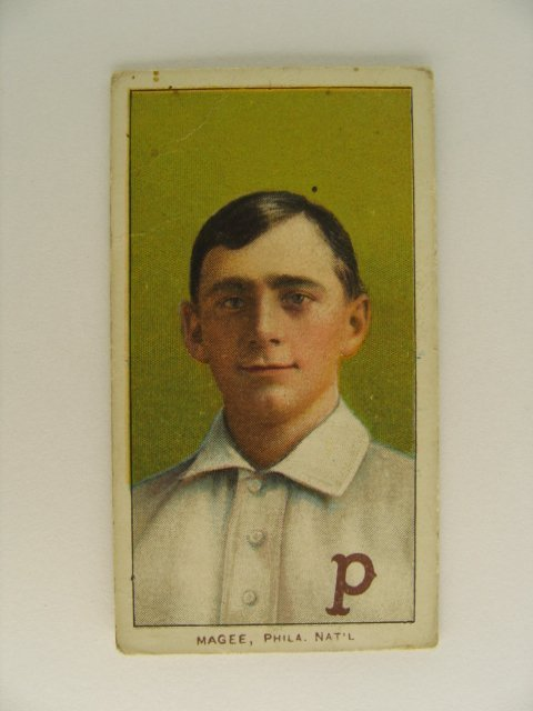 2: Sherry Magee T206 Tobacco Card