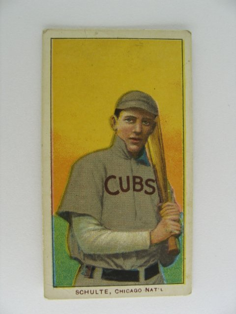 3: Wildfire Schulte T206 Tobacco Card