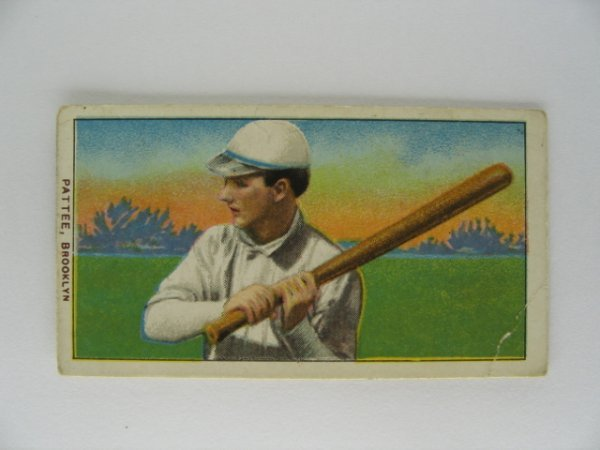 5: Harry Pattee T206 Tobacco Card
