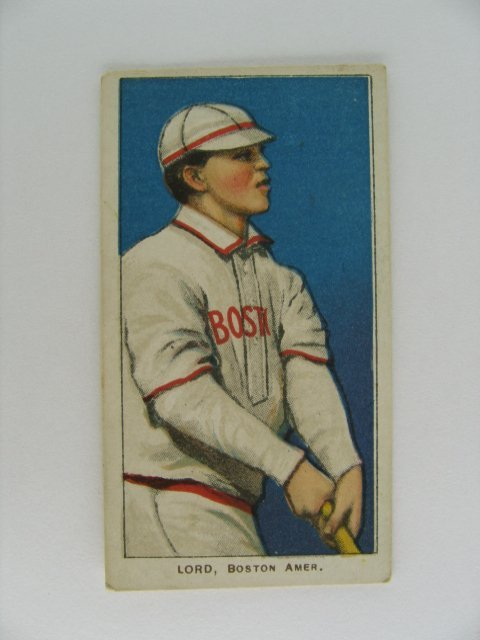 11: Lord T206 Tobacco Card