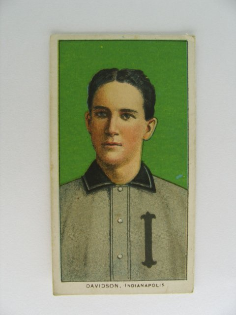 12: Davidson T206 Tobacco Card