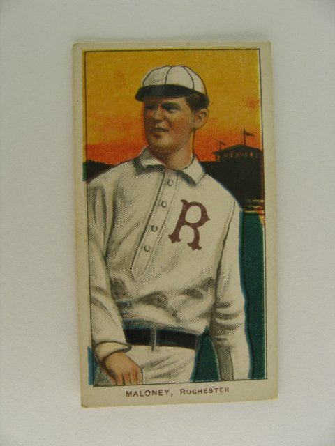13: Maloney T206 Tobacco Card