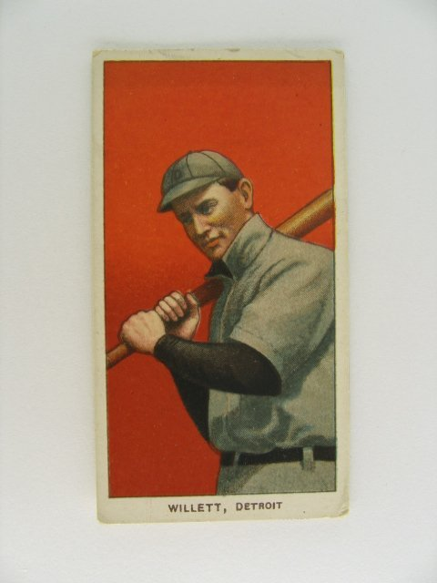 15: Willett T206 Tobacco Card