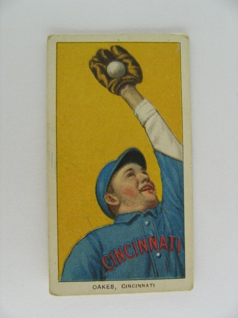 16: Oakes T206 Tobacco Card