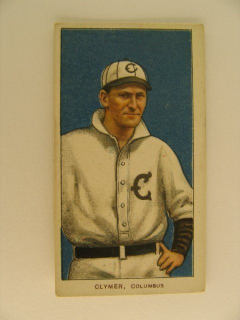 17: Clymer T206 Tobacco Card