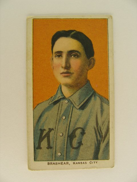 18: Brashear T206 Tobacco Card