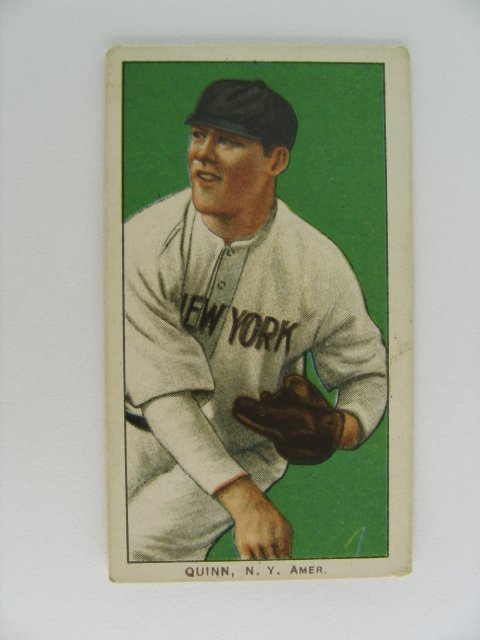 19: Jack Quinn T206 Tobacco Card