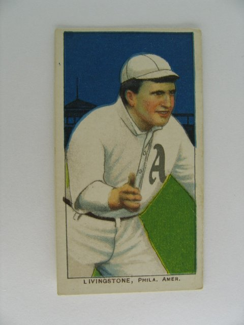 20: Livingstone T206 Tobacco Card