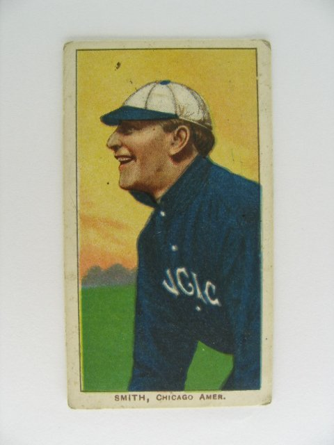 21: Frank Smith T206 Tobacco Card