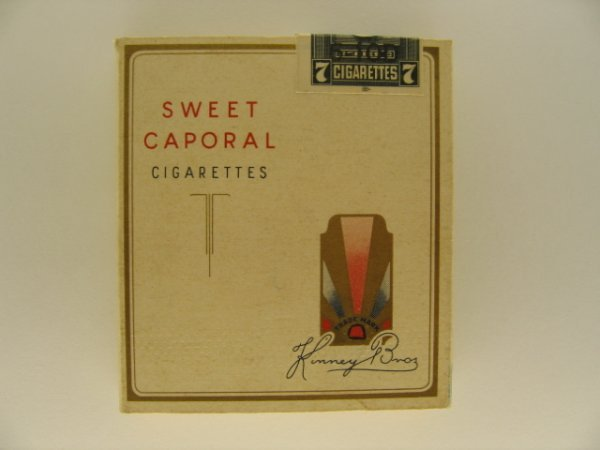 23: Sweet Caporal Cigarettes Tobacco Box