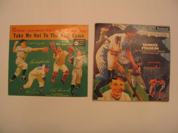 1007: New York Yankees Related Vintage Records (2)