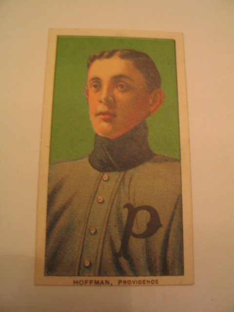 1519: Hoffman, Providence 1909 T206  Tobacco Card