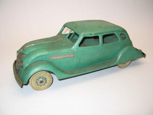 2009: Kingsbury Toys Four Door Windup Toy Car