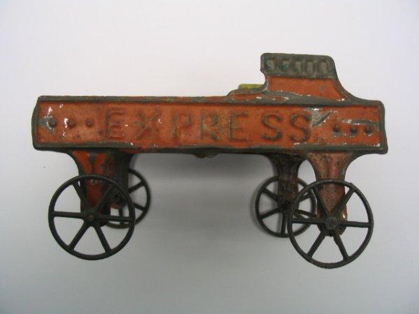 2010: Tin Litho Express Wagon with Tin Wheels