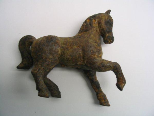 2014: Cast Iron Prancing Horse Bank