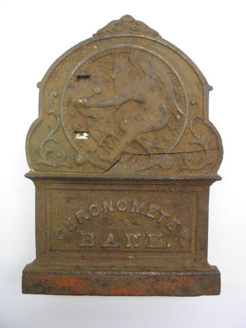 2022: Cast Iron Chronometer Bank