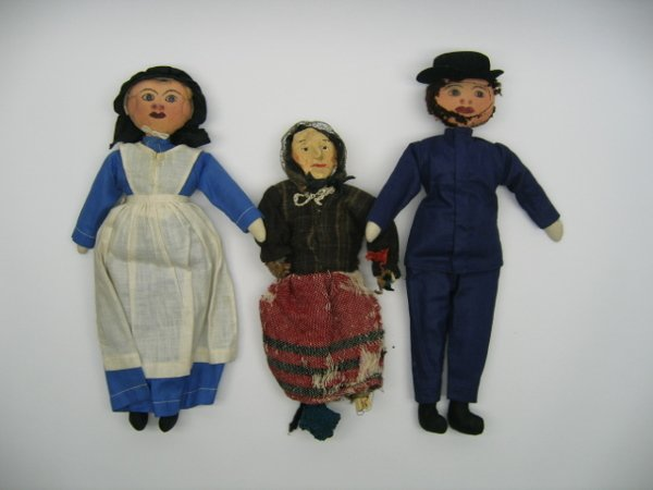 2206: 3 Dolls, Marceline Boy Cap - Chat Doll
