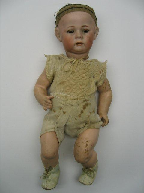 2255: Bisque Head Doll, Simon & Halbig 115A
