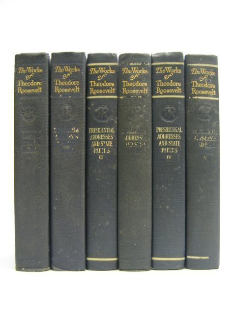 3008: The Works of Theodore Roosevelt vol. 1-6