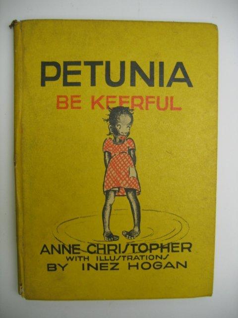 3010: Petunia Be Keerful, Black Americana Book