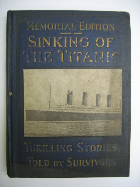 3022: Sinkng of the Titanic, Thrilling Stories by Survi