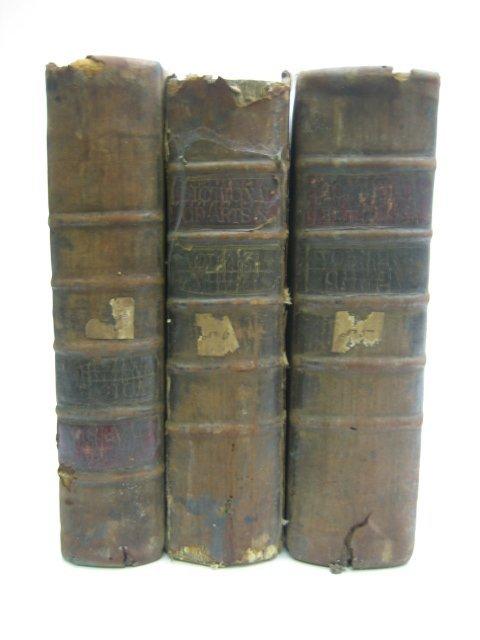 3497: Encyclopedia Britannica Vol. 1-3, 1771