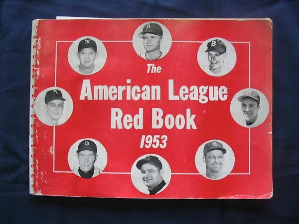 11: American League Red Book of 1953 Nellie Fox, Shantz