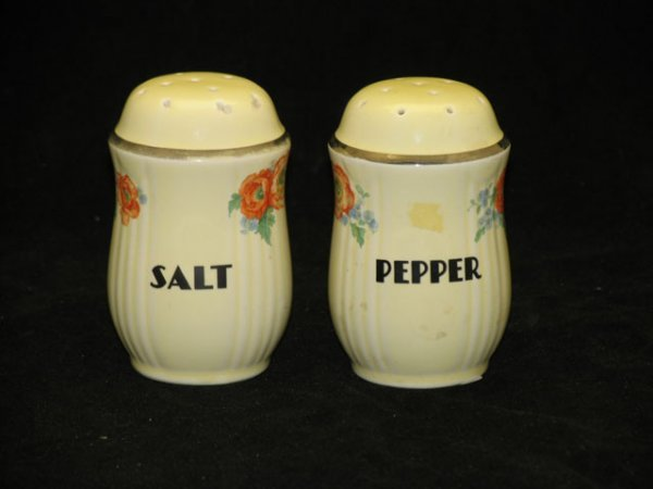 18: Halls Orange Poppy Salt and Pepper