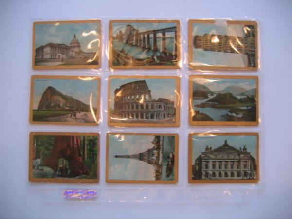 1013: Sights & Scenes of the World T99 Cards