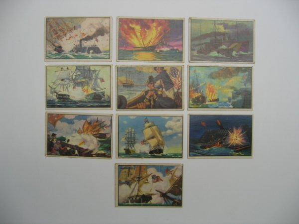 1024: US Navy Victories 1954 Bowman Cards
