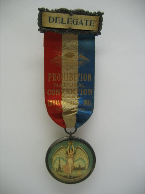 3008: Prohibition National Convention - Delegate - Ribb