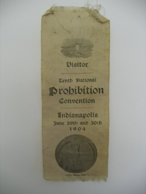3010: Tenth National Prohibition Convention Ribbon