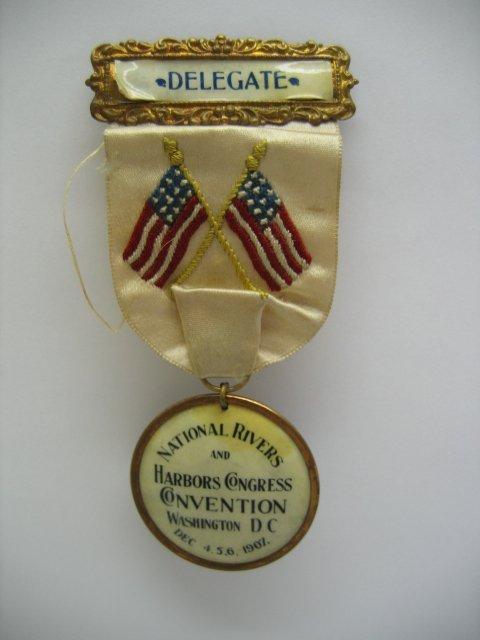3015: National Rivers & Harbors Congress Medal